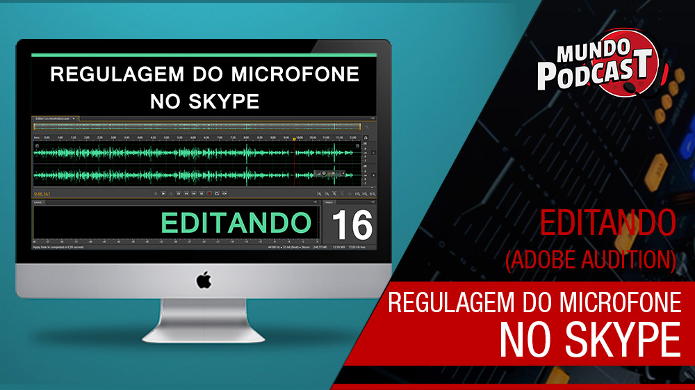 Regulagem da sensibilidade do microfone no Skype