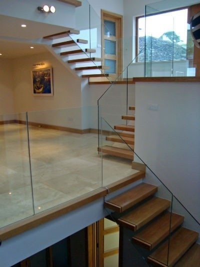 What Is A Decent Cost Estimate For Glass Railings Forum Archinect   Glass Stair Railing Cost   Living Room   Glass Balustrade   Simple   Grill   Glass Wood Combined