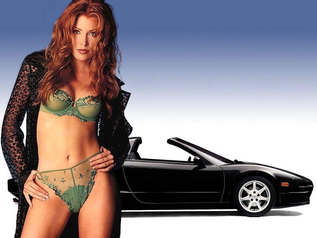 Honda Hotties Muscle Car Babes