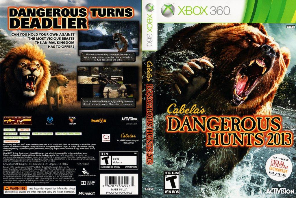 Cabelas Alaskan Adventures Xbox 360 Kinect