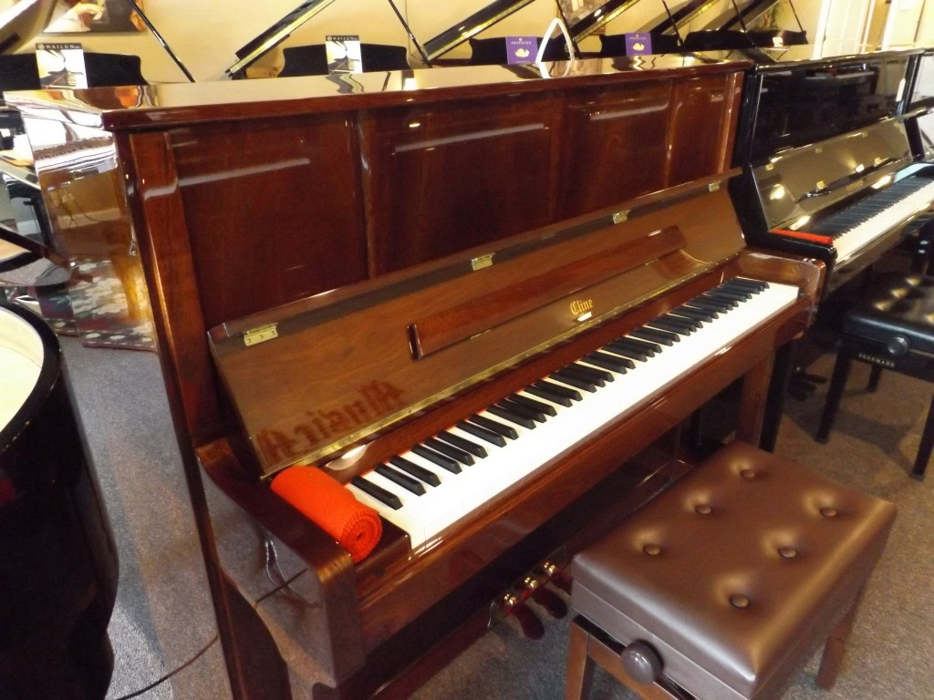Cline Cl121 Wp Walnut Polish Piano Austin Texas