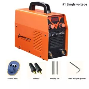 Electric welding machine ZX7 250 copper 220V 380V dual use Full     Electric welding machine ZX7 250 copper 220V 380V dual use Full automatic  miniature Industrial
