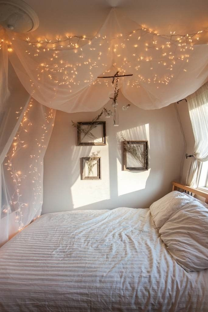 Cheap String Lights Decor For Making Your Bedroom Cozy