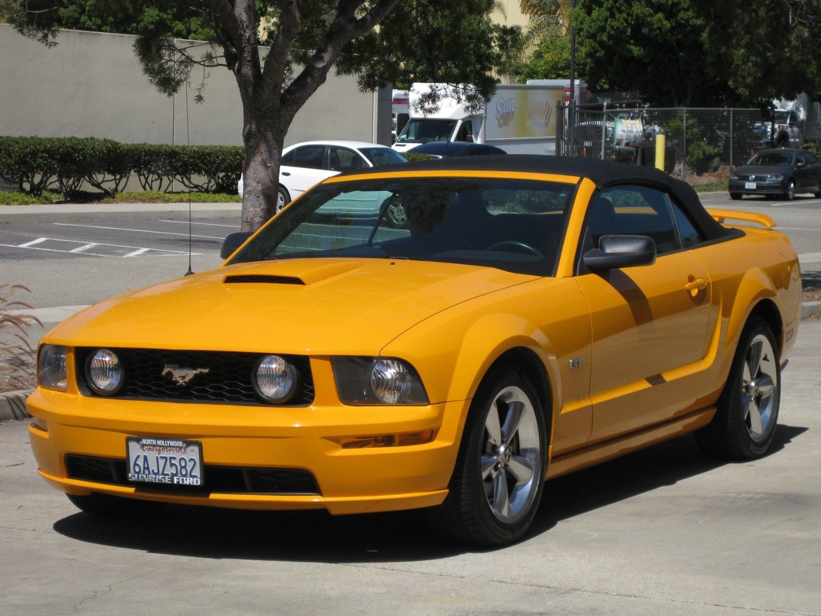 Used 2007 Ford Mustang 2007 Ford Mustang Gt Grabber Orange Low Miles 2018 2019 Mycarboard Com