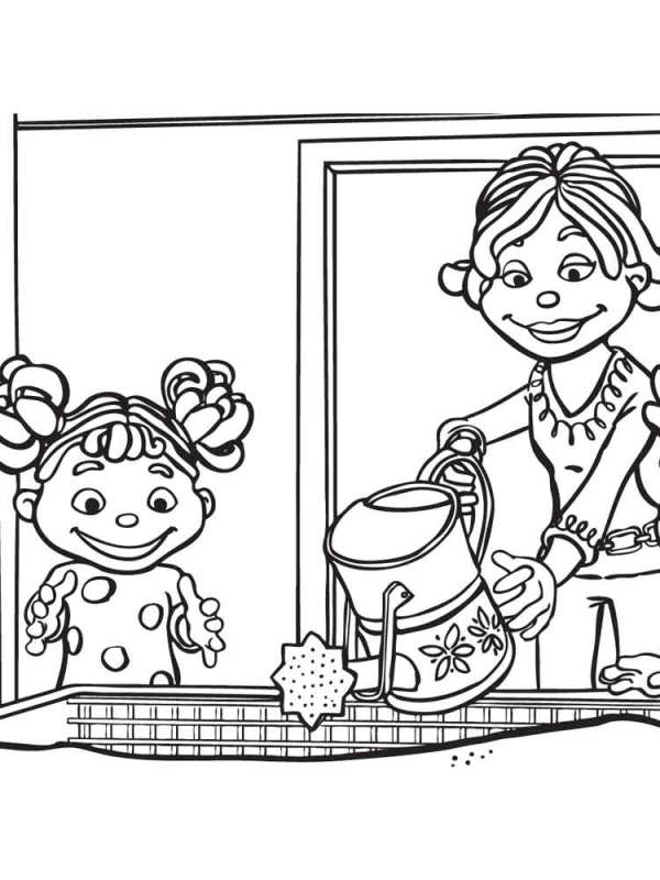 sid the science kid coloring pages # 8