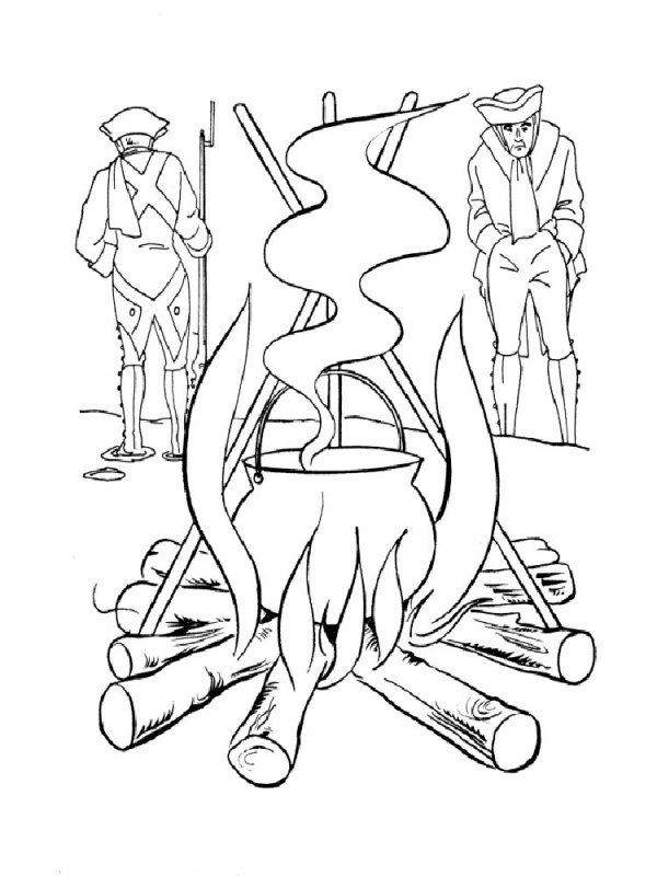 american revolution coloring pages # 48