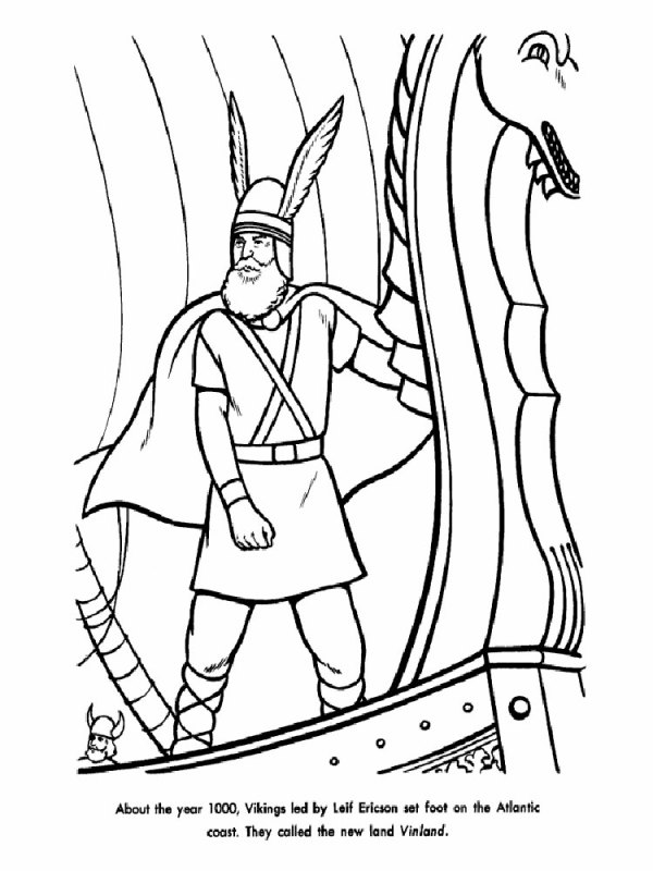 viking coloring pages # 45