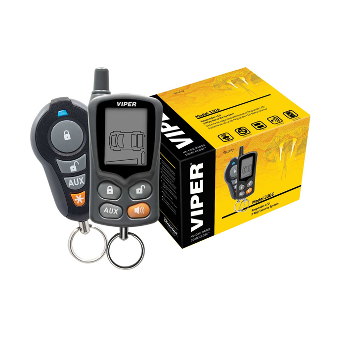 Viper 2 Way Car Alarm Security System 3305vc