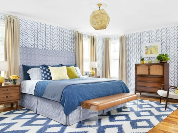 Bedroom Wallpaper Design Ideas My Daily Magazine Art
