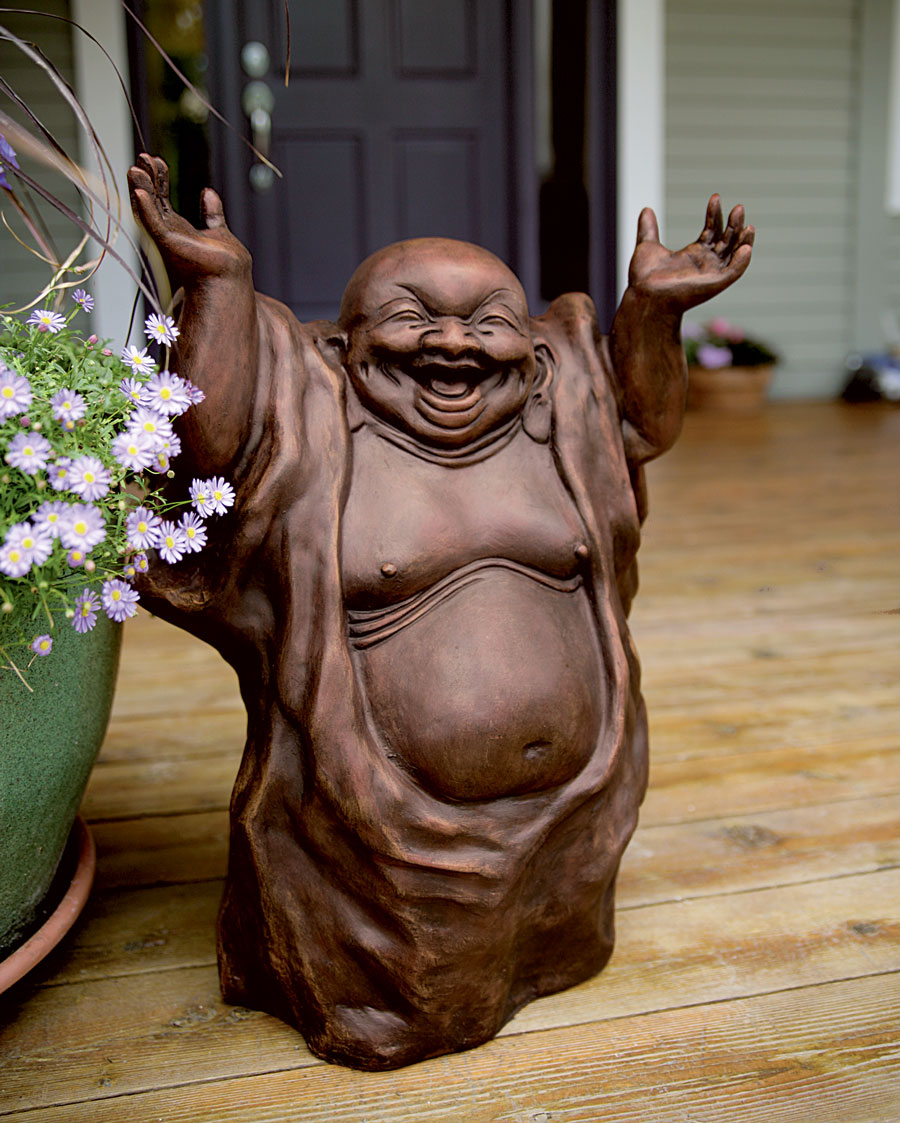 Laughing Buddha as Lucky Mascot at Home | My Decorative