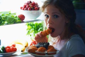Mädchen will essen