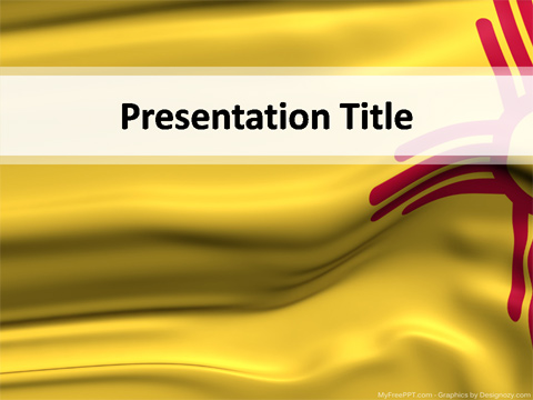 New Mexico Powerpoint Template Download Free Powerpoint Ppt