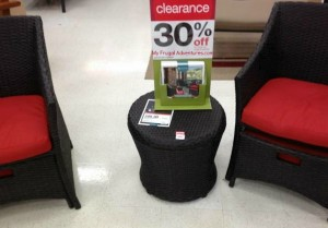 Target  Outdoor Furniture Clearance    My Frugal Adventures I