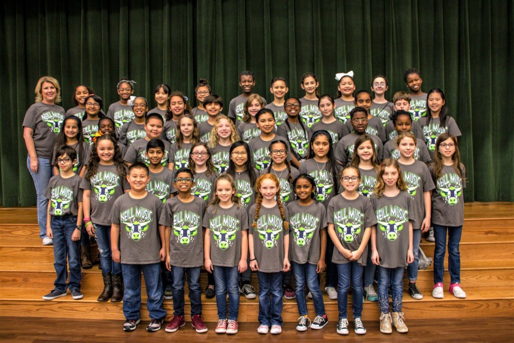 Neill Elementary S Music Club The Rockin Longhorns To