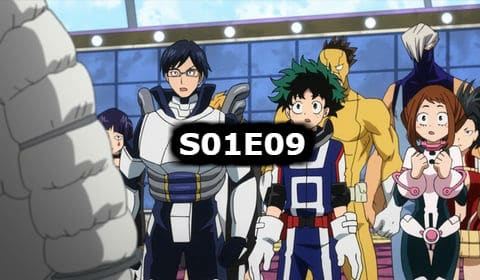 My Hero Academia Season 1 Episode 9 English Dubbed Watch Online