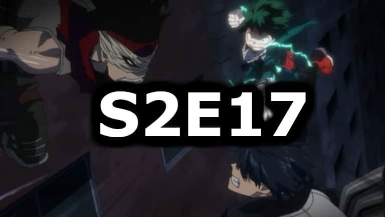 My Hero Academia Season 2 Episode 17 English Dubbed Watch Online