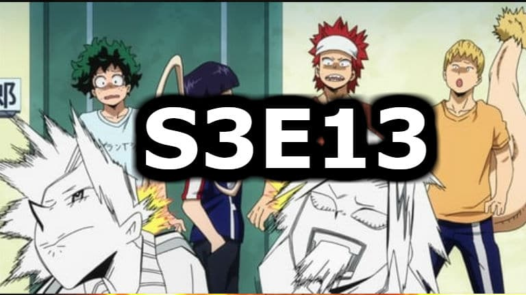 My Hero Academia Season 3 Episode 13 English Dubbed Watch Online