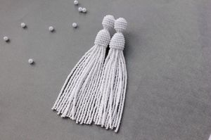 Сережки серьги из бисера: мастер класс