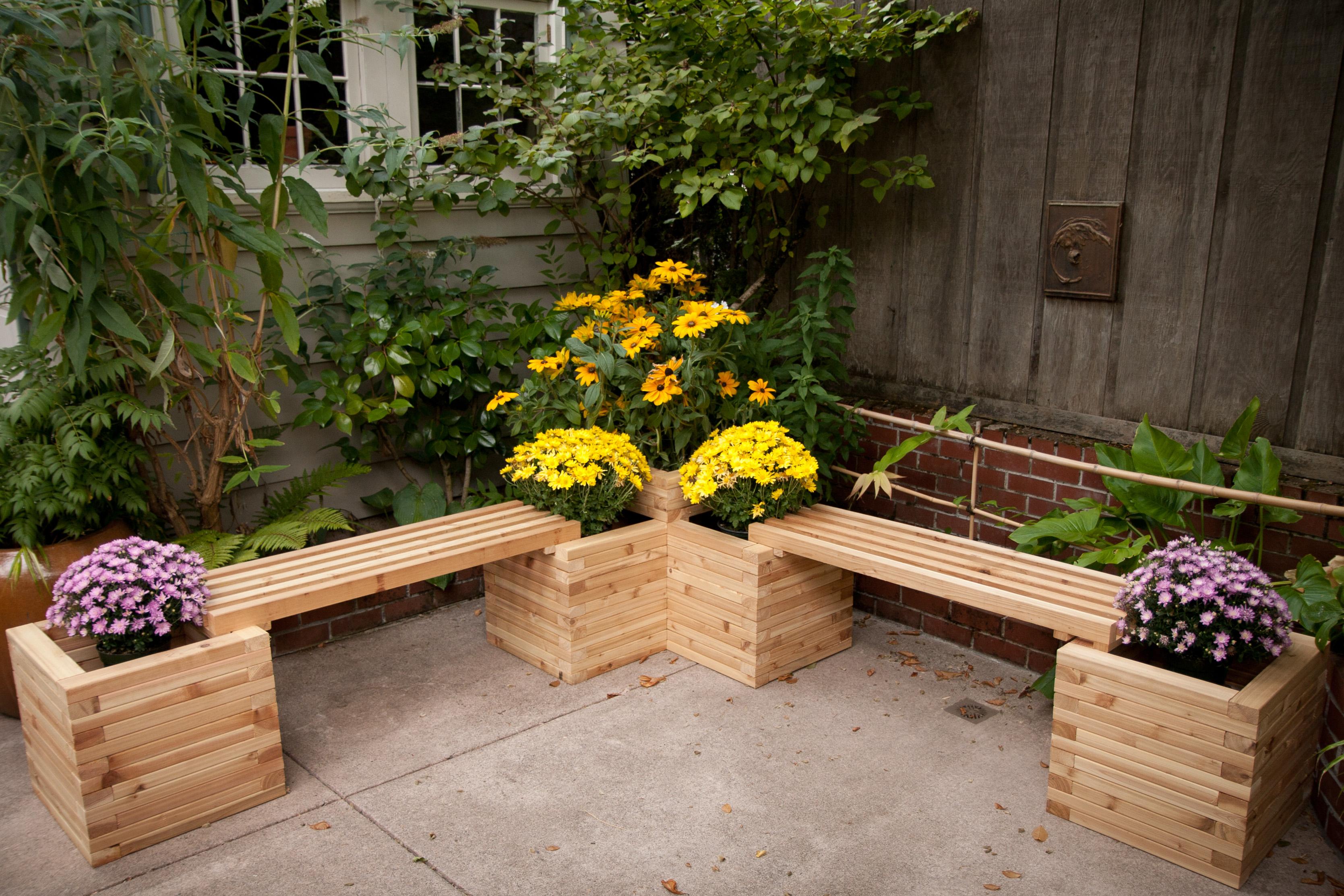 Building Garden Planter