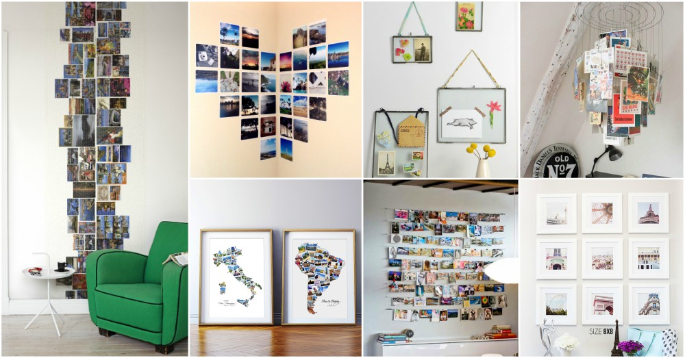 Creative Ways To Display Quotes: Creative Ways Display Postcards