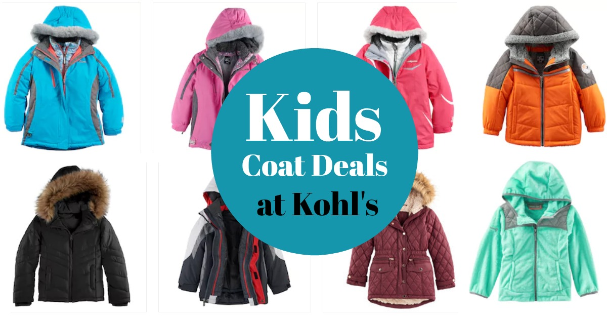 Kohls Kids Coats on Sale! - MyLitter - One Deal At A Time