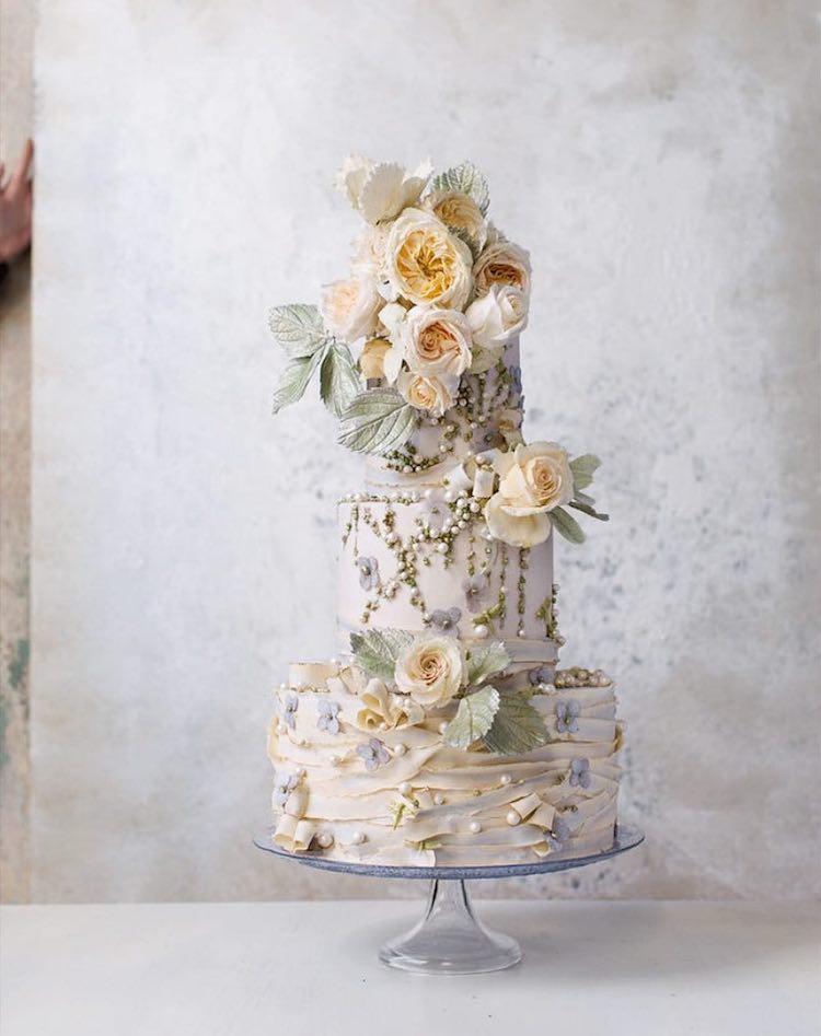 Life Like Sugar Flowers Turn Towering Cakes Into Blooming