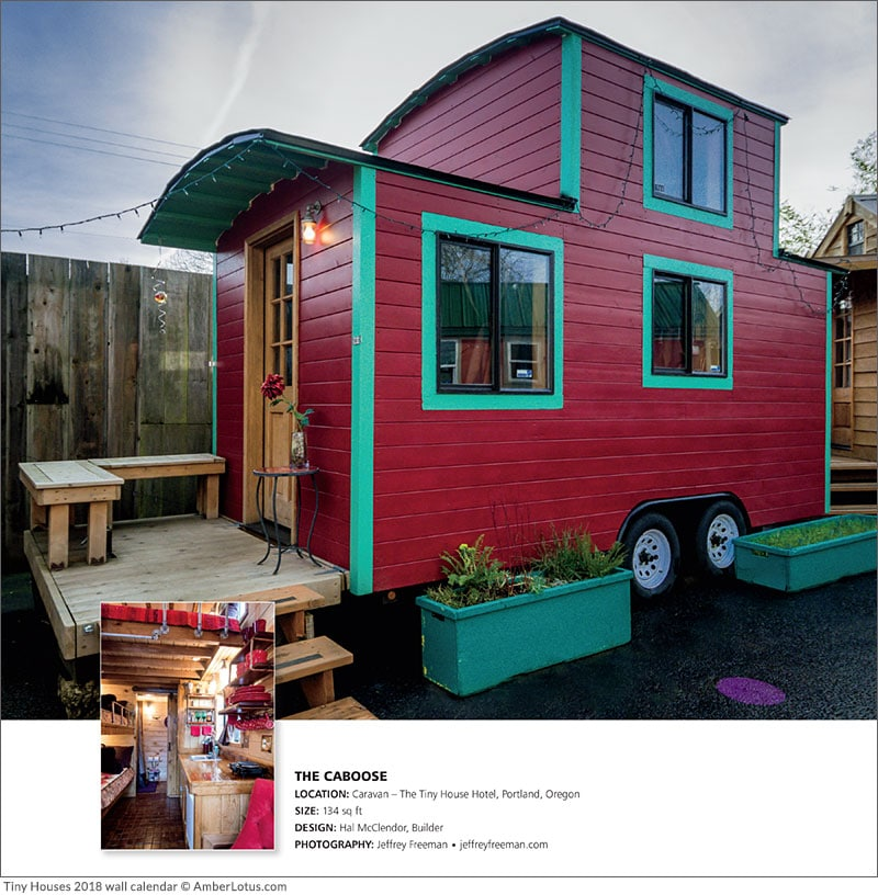 12 Cool Tiny Houses On Wheels Ground Trees And All