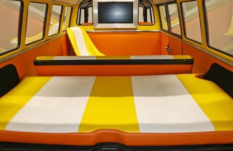 Custom Vw Bus Inspired By Back To The Future S Time Machine