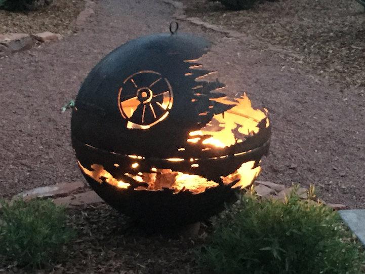 Metal Fire Pit