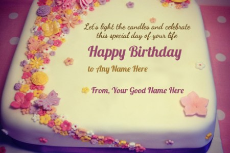 Birthday Greetings With Name Birthday Cake Birthday Images Birthday