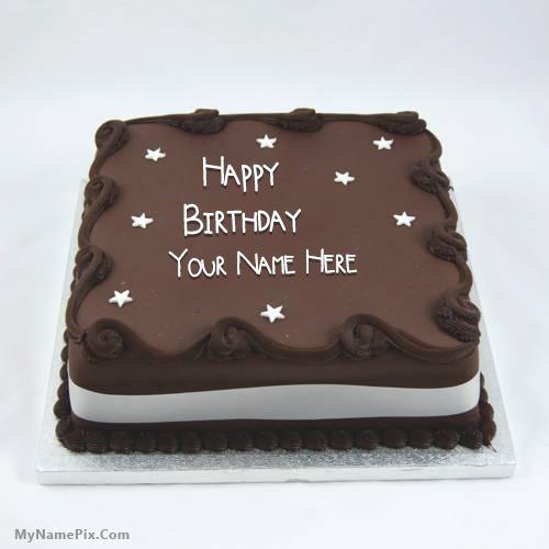 Happy Birthday Cake Name Edit Online