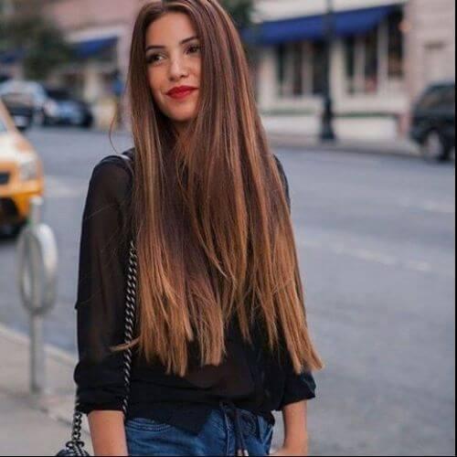 Reddish Light Brown Hair Color