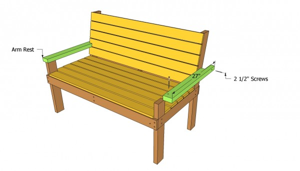 Park Bench Plans Myoutdoorplans Free Woodworking Plans