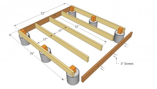 10x12 shed foundation plan on skids for How to read a foundation plan