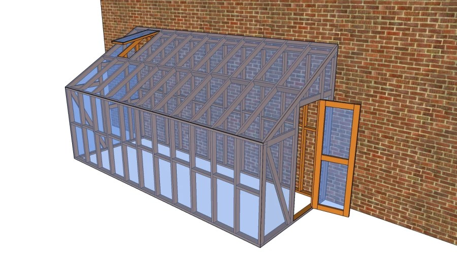 Lean to greenhouse plans   MyOutdoorPlans   Free Woodworking Plans     Lean to greenhouse plans   MyOutdoorPlans   Free Woodworking Plans and  Projects  DIY Shed  Wooden Playhouse  Pergola  Bbq