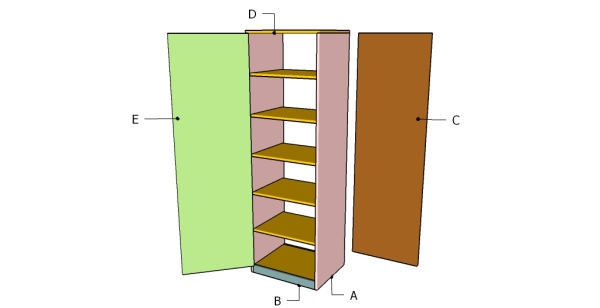Storage Cabinet Plans Myoutdoorplans Free Woodworking