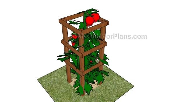Tomato Cage Plans Myoutdoorplans Free Woodworking