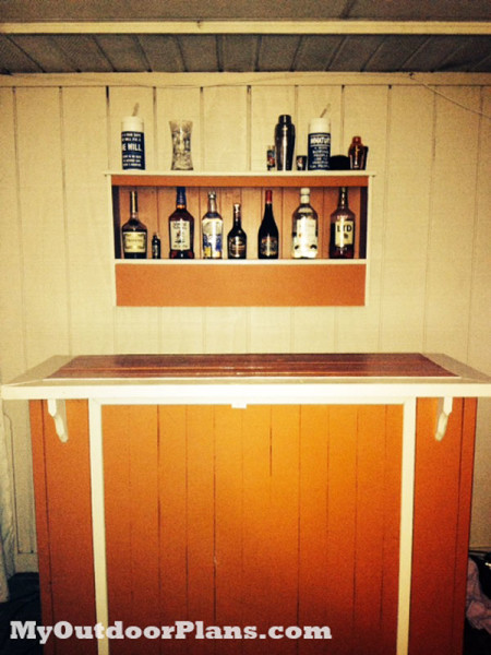 Diy Outdoor Bar Myoutdoorplans Free Woodworking Plans