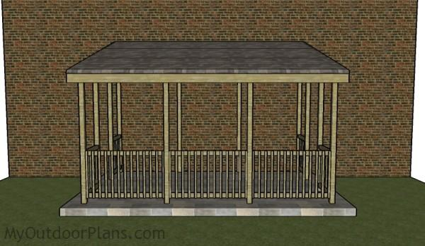 Lean To Gazebo Plans Myoutdoorplans Free Woodworking