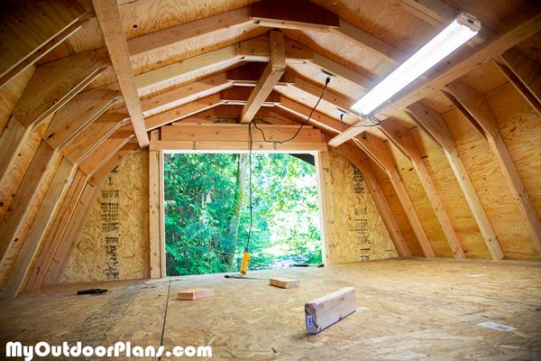 Diy 12x16 Barn Shed Myoutdoorplans Free Woodworking