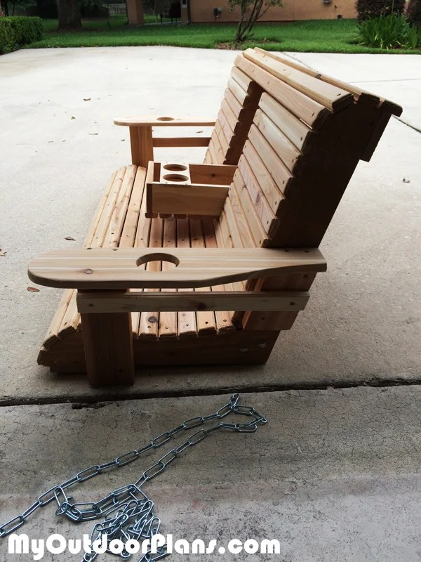 Diy Wood Porch Swing Myoutdoorplans Free Woodworking