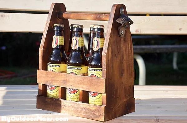 Diy Beer Caddy Myoutdoorplans Free Woodworking Plans