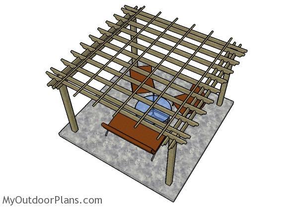 12x12 Pergola Plans Myoutdoorplans Free Woodworking