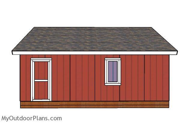 24x24 Shed Door Plans Myoutdoorplans Free Woodworking