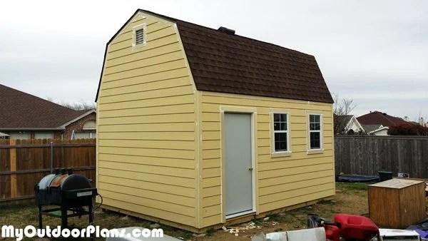 Diy 12x16 Barn Workshop Myoutdoorplans Free