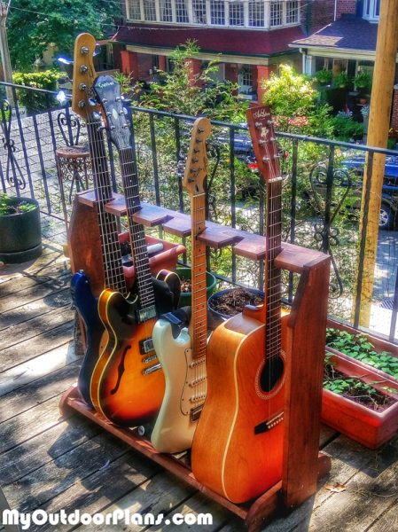 Diy Simple Guitar Stand Myoutdoorplans Free