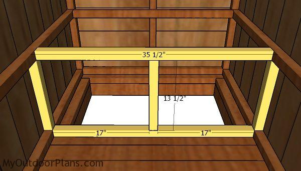 Simple Outhouse Plans Part 2 Myoutdoorplans Free