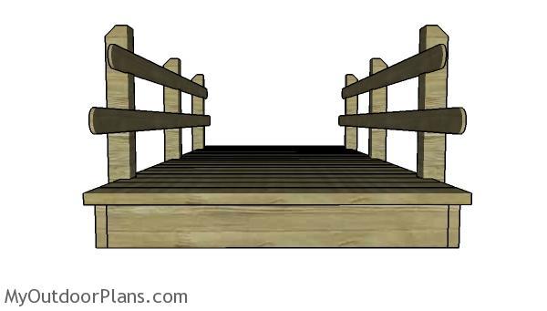 Free Flat Bridge Plans Myoutdoorplans Free Woodworking
