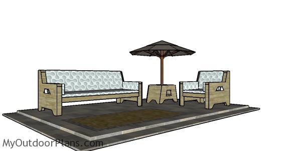 2x4 Outdoor Chair Plans Myoutdoorplans Free