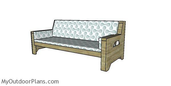 2x4 Outdoor Sofa Plans Myoutdoorplans Free Woodworking